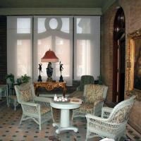 Binnen in het Château Dufresne