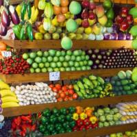 Fruitkraam op de Chatuchak Weekend Markt