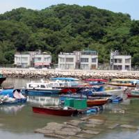 Bootjes bij Cheung Chau