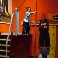 Kind in het Miami Children's Museum
