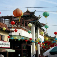Lampionnen in Chinatown