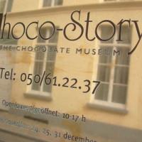 Naambord van Choco-Story