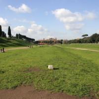 Overzicht van het Circus Maximus
