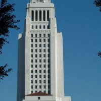 Top van de Los Angeles City Hall
