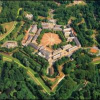 Bovenaanzicht Citadelle de Lille