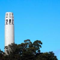 Vergezicht op de Coit Tower