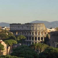 Vergezicht op het Colosseum