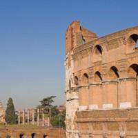 Aan het Colosseum