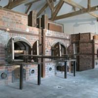 Ovens in het Concentratiekamp van Dachau