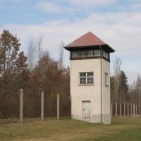 Toren aan het Concentratiekamp van Dachau