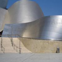 Trappen voor de Walt Disney Concert Hall
