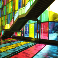 Kleurrijke ramen
