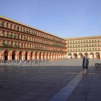 Zicht over de Plaza de la Corredera