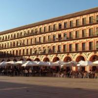 Terrassen op de Plaza de la Corredera