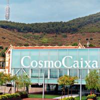 Logo van het CosmoCaixa