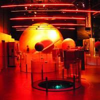 Binnen in de Cosmodôme