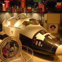 Cockpit van de Endeavour