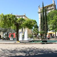 Fonteinen op de Cours Julien