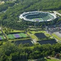 Tennisterreinen van Crandon Park