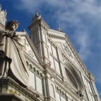 Onder aan de Santa Croce