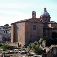 Achterkant van de Curia Julia