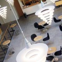 Binnen in het Dansk Design Center