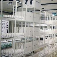 Rekken in het Dansk Design Center