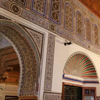 Binnen in het Dar Si Said Museum