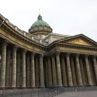 Koepel op de Kazankathedraal