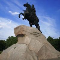 Standbeeld op het Decembristenplein