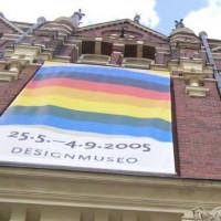 Onder aan het Kunst-en Designmuseum