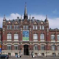 Voorgevel van het Kunst-en Designmuseum