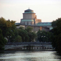 Vergezicht op het Deutsches Museum