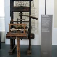 Drukpers in het Deutsches Museum