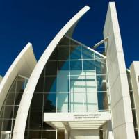 Voorkant van de Dio Padre Misericordioso-kerk