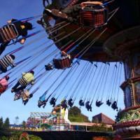 Zweefmolen in Disneyland Resort Paris