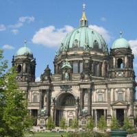 Totaalbeeld van de Berliner Dom
