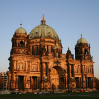Zicht op de Berliner Dom