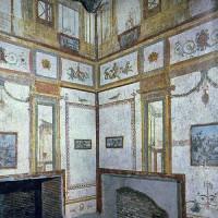 Mozaïek in het Domus Aurea