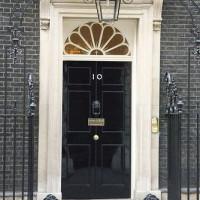 Voordeur van 10 Downing Street