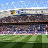 Grasmat van het Estádio do Dragão