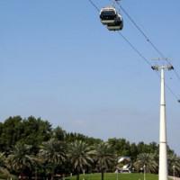 Kabelbaan in Dubai Creekside Park