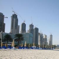 Gebouwen in de Dubai Marina
