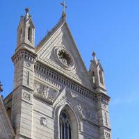 Detail van de Duomo Napels
