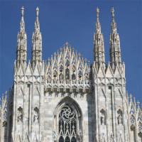 Voorkant van de Duomo