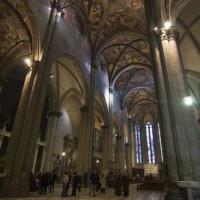 Binnen in de Duomo