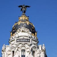 Top van het Edificio Metrópolis