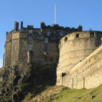 Beeld van Edinburgh Castle