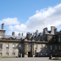 Beeld van Holyrood Palace