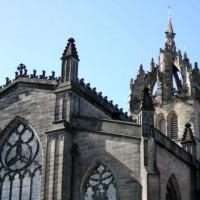 Detail van St. Giles Cathedral